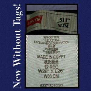 Levi's Bottoms - Buy 2 Get 1 Free Sale Levi's 511 Slim Fit Jeans!